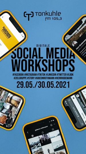 Überbelichtet - Onlineworkshops zu Social Media